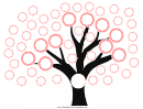 Mother Side Family Tree Template