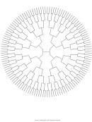 Circle Family Tree 7 Generation