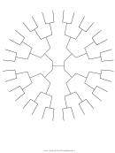 Circle Family Tree 5 Generations