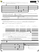 Form Nd-3 - Request For Residential And Agricultural Property Tax Relief Credit Certificate - 2008