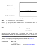 Form Mllc-14 - Limited Liability Company Certificate Of Excuse