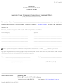 Form Mnpca-16 - Approval Of Local Development Corporation By Municipal Officers