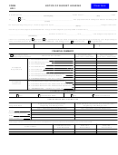 Form Ur-1 - Notice Of Budget Hearing - 2003