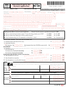 Form Hs-138 - Education Property Tax Payment Application - 2004
