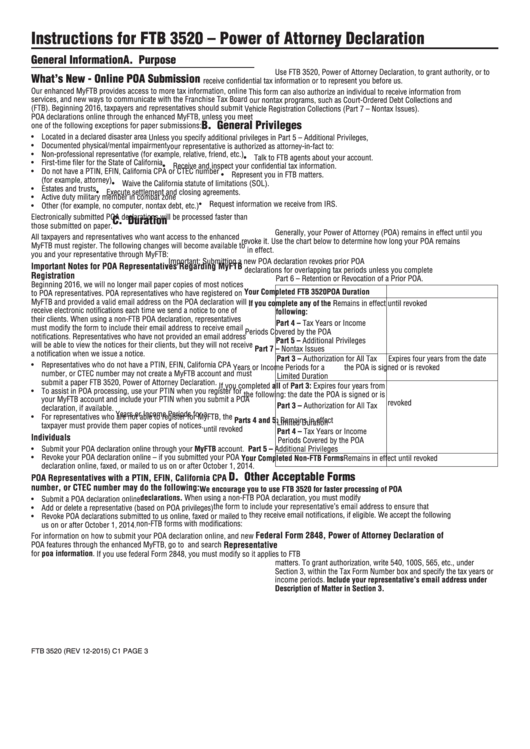 Top 9 California Ftb Form 3520 Templates Free To Download In Pdf Format