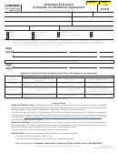 Form 872n - Nebraska Extension Of Statute Of Limitations Agreement