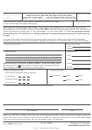 Form 2587 - Application For Special Enrollment Examination - 2002