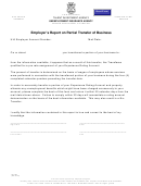 Form Uia 1184 - Employer's Report On Partial Transfer Of Business - 2015