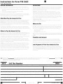 California Form 3522 - Llc Tax Voucher - 2013