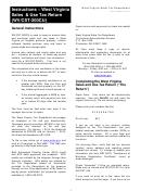 Instructions - West Virginia Sales & Use Tax Return (wv/cst-200cu)
