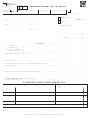 Form Svu20005-a - Oklahoma Vendors Use Tax Return - 2017