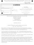 Cigarette Dealer's License Renewal Application - Rhode Island Division Of Taxation