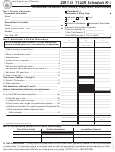 Form Ia 1120s - Schedule K-1 - Shareholder's Share Of Iowa Income, Deductions, Modifications, Form Ia 1065 - Schedule K-1 - Partner's Share Of Iowa Income, Deductions, Modifications - 2011