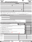 California Form 3840 - California Like-kind Exchanges - 2014