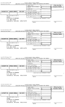 Form 220-221s - Employer's Return Of Occupational License Tax Withheld For Schools - 1999