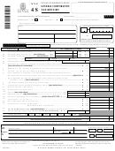 Form Nyc-4s - General Corporation Tax Return - 2000