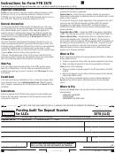 California Form 3578 (llc) - Pending Audit Tax Deposit Voucher For Llcs