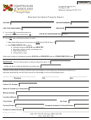 Maryland Unclaimed Property Report