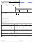 Form Ia 1120s - Iowa Income Tax Return For An S Corporation - 2007