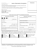 Form Ls-119-e - Labor Standards Complaint