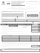 Form 6fb - Application For Extension To File Final Return