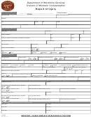 Form Injrpt - Report Of Injury - Department Of Workforce Services