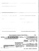 Form F-7004a - Return And Application For Extension Of Time To File Return