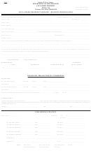 Form Up-1 - Unclaimed Property Report - Holder Information