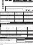 Form Nyc-399 - Schedule Of New York City Depreciation Adjustments - 2015