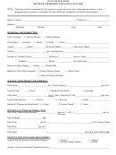 Private Swimming Pool Application - City Of Walker Form