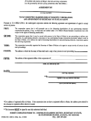 Form Mbca-10ma - Agreement To Pay Dissenting Shareholders Of Domestic Corporations And Appointment Of Secretary Of State As Agent