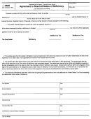 Form 8626 - Agreement To Rescind Notice Of Deficiency