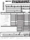 Form Nyc-3360 - General Corporation Tax Report Of Change In Tax Base Made By Internal Revenue Service And/or New York State Department Of Taxation And Finance - New York City Department Of Finance
