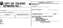 Tax Form - City Of Findlay, Ohio printable pdf download