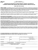 Form Cert-113 - Certificate For Purchases Of Tangible Personal Property And Services By A Nonprofit Nursing Home, Nonprofit Rest Home Or Nonprofit Home For The Aged