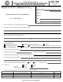 Form Abl-500 - Application For Producer Of Beer And Wine Certificate Of Registration And Form Abl-569 - Beer And Wine Producers Authorization Of Wholesalers And Brands