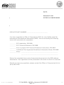 Form De 999 - Request For Offer In Compromise- 2003