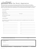 Form Rv121 - Statewide Sales Tax Permit Application