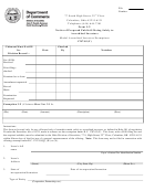 Form Com 4508 - Notice Of Proposed Public Offering Solely To Accredited Investors