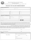 Request For Holder Reimbursement - State Of Nevada Office Of The State Treasurer