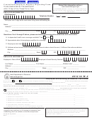 Form Ia W-4 - Centralized Employee Registry Reporting Form - Iowa Department Of Revenue - 2012