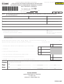 Form N-288c - Application For Tentative Refund Of Withholding On Dispositions By Nonresident Persons Of Hawaii Real Property Interests - 2012