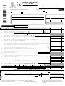 Form Nyc-4s - General Corporation Tax Return - 2003