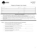 Form Tp-102 - Tobacco Product Tax Credit - 2005