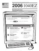 Instructions For Form 1040ez - Income Tax Return - Internal Revenue Service- 2006