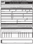 Form Request For Review Of Property Value For Tax Class 1 Properties