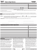 California Form 100-we - Water's-edge Election - 2011