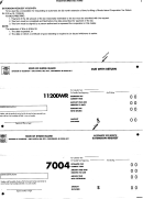 Form 1120wr - Due With Return, Form 7004 - Authomatic Six Month Extension Request