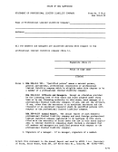 Form 8 Pllc - Statement Of Professional Limited Liability Company - State Of New Hampshire