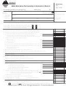 Form Pr-1 - Montana Partnership Information Return - 2003